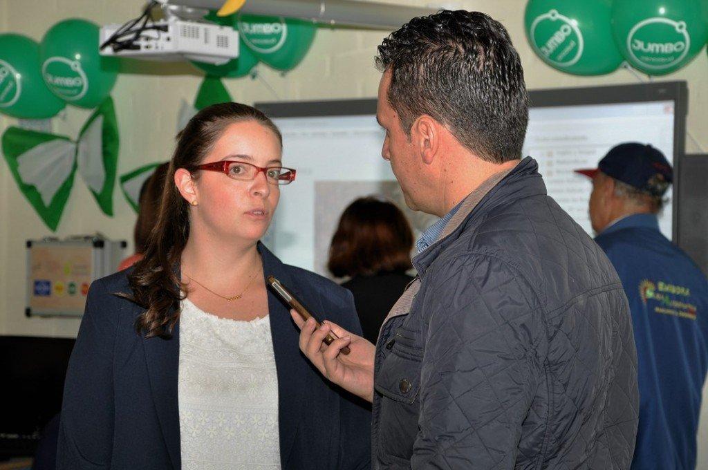 Juliana Mejía, Jefe de Responsabilidad Social de Cencosud