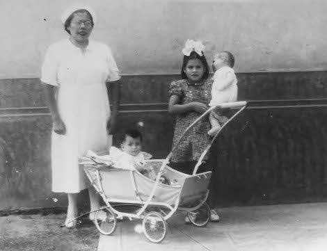 Lina Medina a los pocos días de haber tenido su hijo.