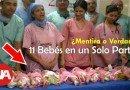 Mujer tuvo 11 Bebés en un Solo Parto (Mito o Realidad)